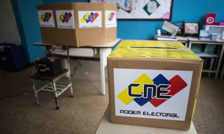 mesas de votación