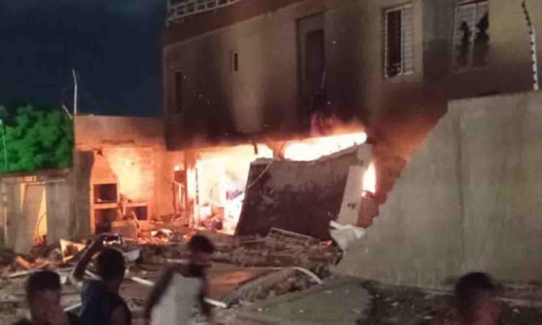 Explosión de casa en Maracaibo