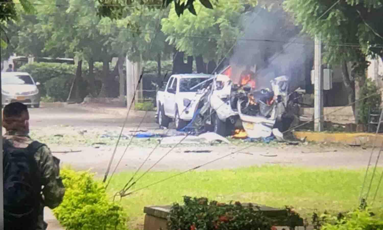 carro bomba en Colombia