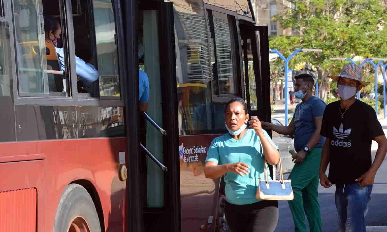 transporte público en el Zulia