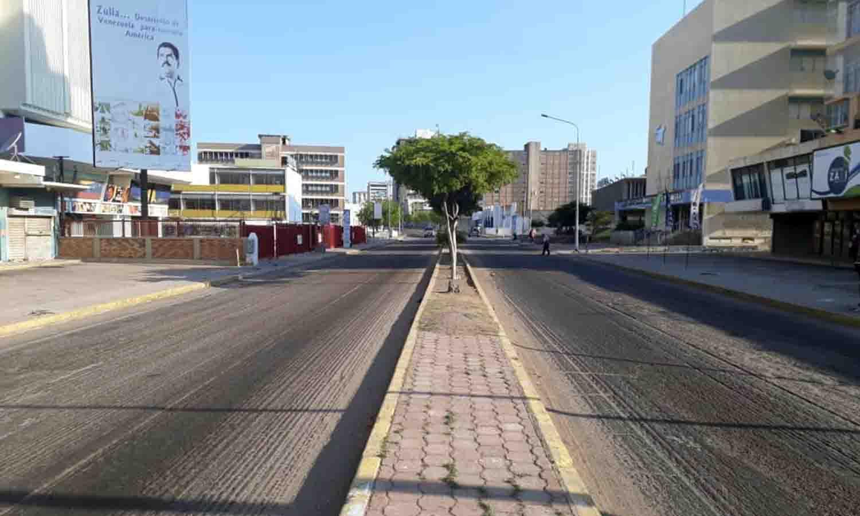 calles solas en Maracaibo