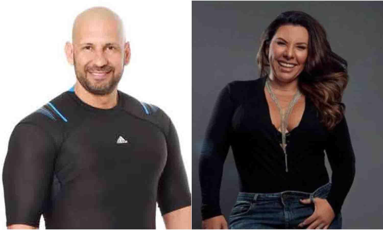 Richard Linares y Vanessa Senior
