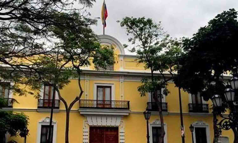 Cancillería en Caracas