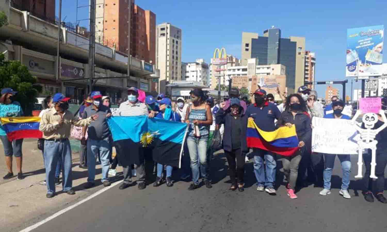 maestros protestan Zulia