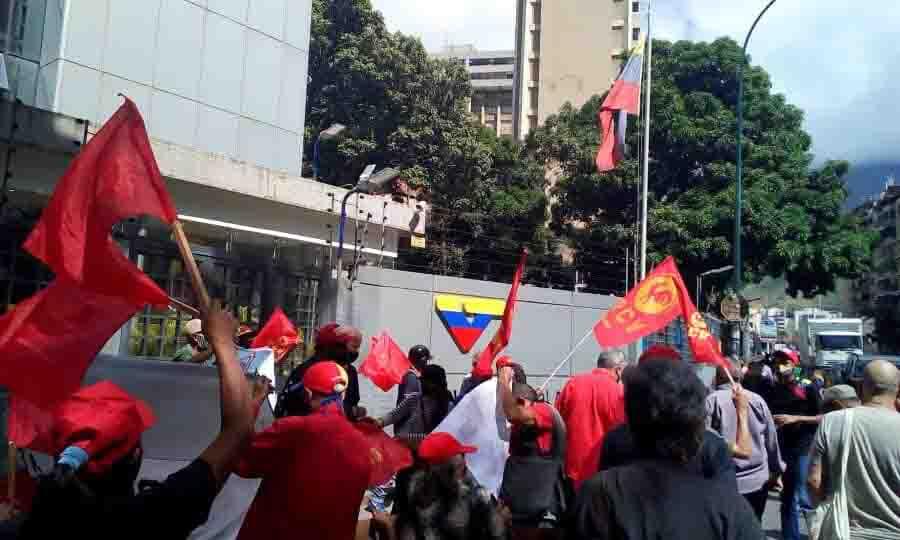protesta PCV