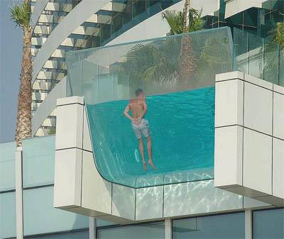 Diario la verdad las cuatro mejores piscinas de hotel for Piscinas en altura