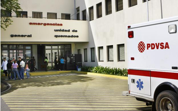 Tras 9 días de la explosión, Carlos Flores murió en el hospital Coromoto. (Foto: Archivo La Verdad)