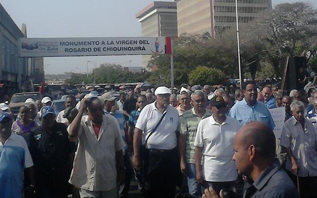 Las acciones de calle de los pensionados y jubilados continuarán