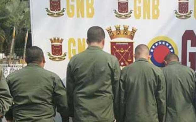 Arrestan a cuatro militares y a siete CICPC por corrupción