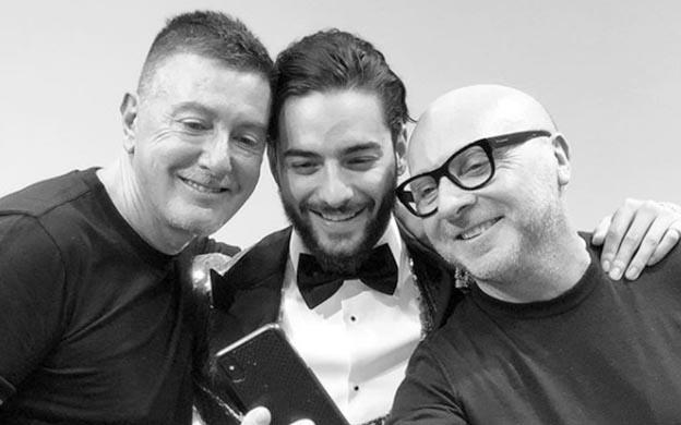 Maluma desfila para Dolce & Gabbana