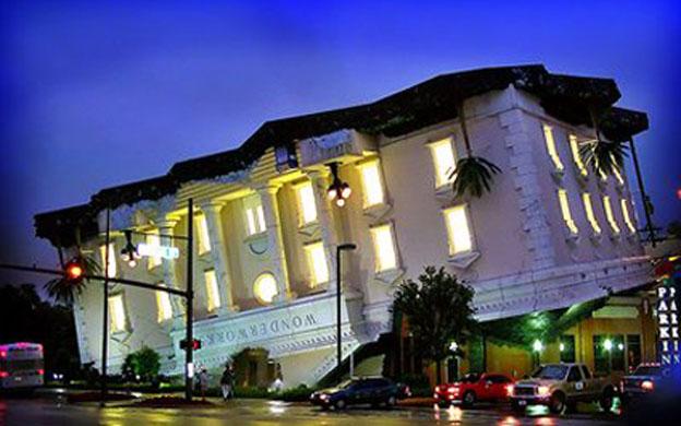 Casa al revés en Florida, Estados Unidos. (Foto: Archivo)