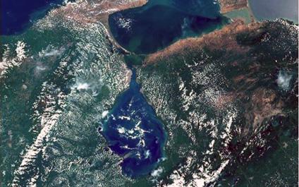 Diario La Verdad - Así luce el Lago de Maracaibo desde el espacio